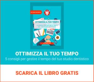 Time Management per lo studio odontoiatrico: Scarica il libro gratis