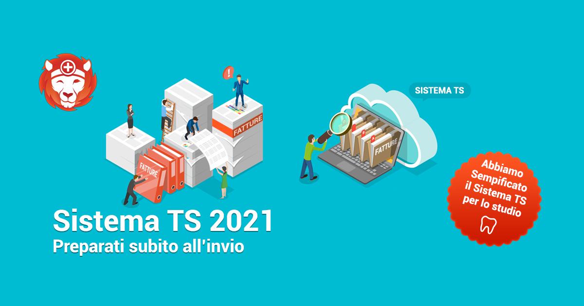 Sistema TS 2021: come preparare gli invii
