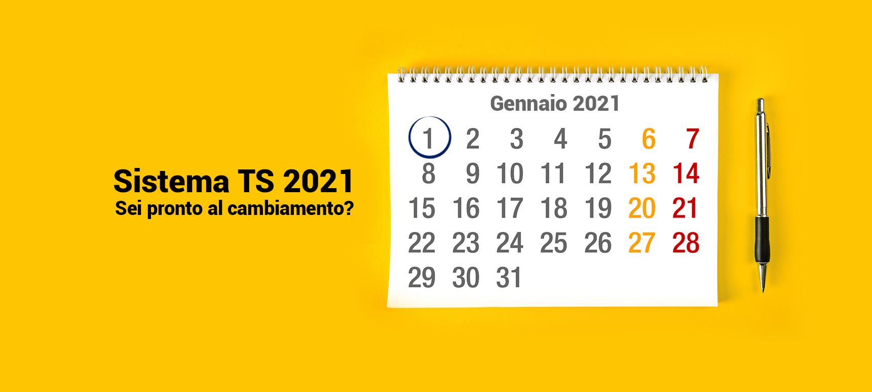 Sistema TS: cosa cambia nel 2021